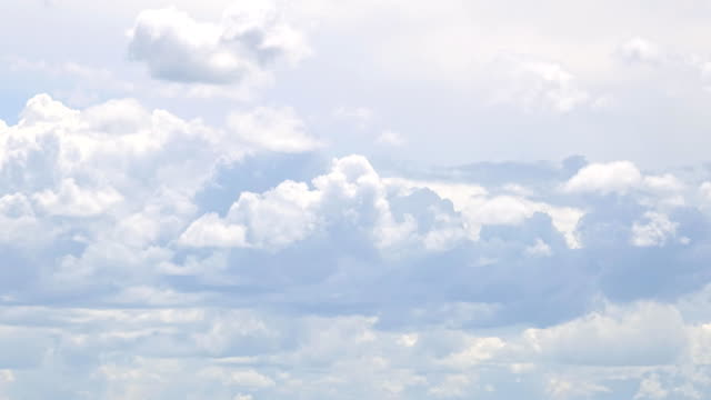 time-lapse: fast moving clouds - bugtiger stock videos and b-roll footage