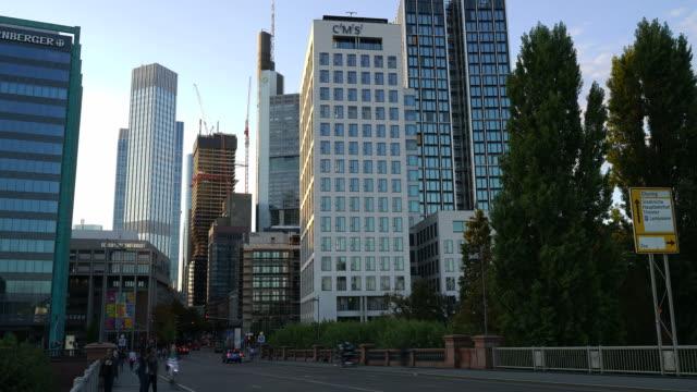 Timelapse-Frankfurt am Main in Deutschland