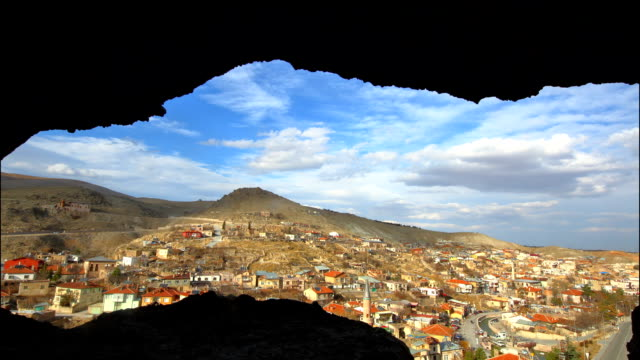 timelapse from sille caves - konya stock videos and b-roll footage