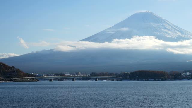 timelapse Fuji Mountain in Japan