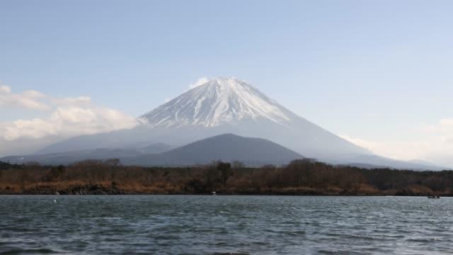 Time-lapse: Fuji Mountain Landscape at Shoji Lake
