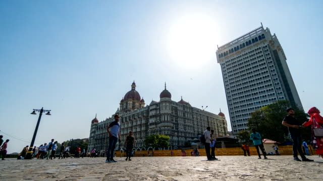 timelapse : gateway of india mumbai, india - mumbai stock videos & royalty-free footage