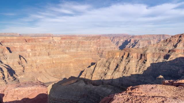 Time-lapse jante ouest du Parc National de Grand Canyon en Arizona, États-Unis