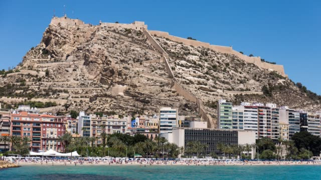 Time-lapse in Alicante bay