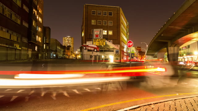 Timelapse in downtown Johannesburg, South Africa