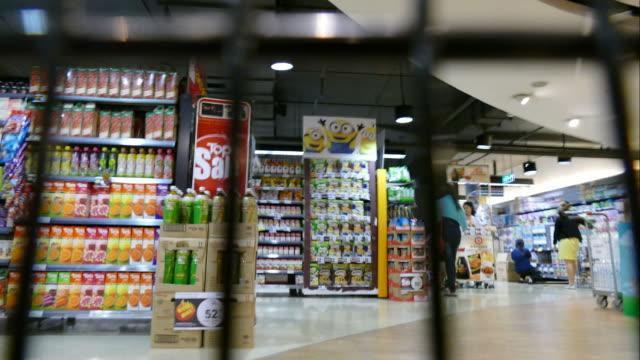 time-lapse de Supermercado