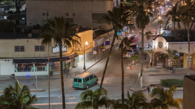 4k time-lapse: intersection of cabo san lucas - cabo san lucas stock videos & royalty-free footage