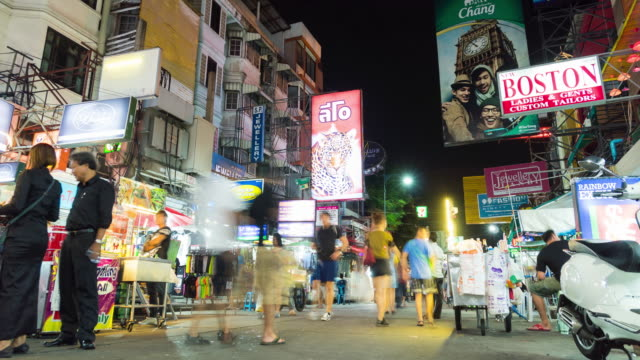 4K Timelapse: Khaosan Road
