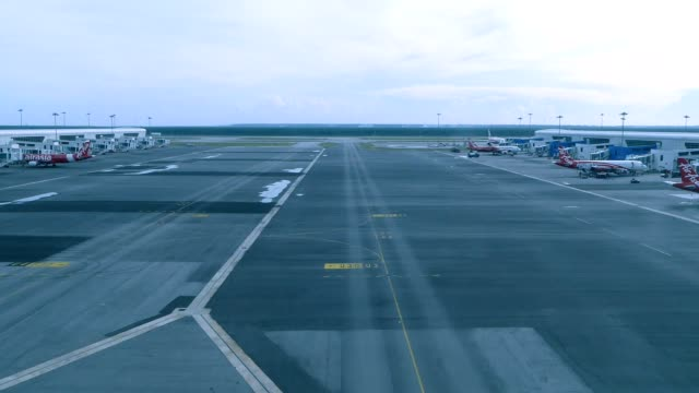 timelapse lcct airport - taxiing stock videos & royalty-free footage