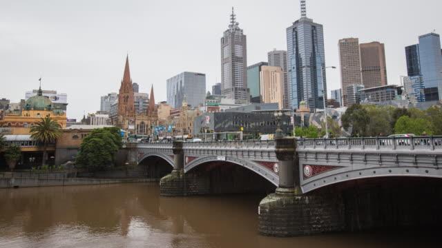 timelapse Melbourne, Australia