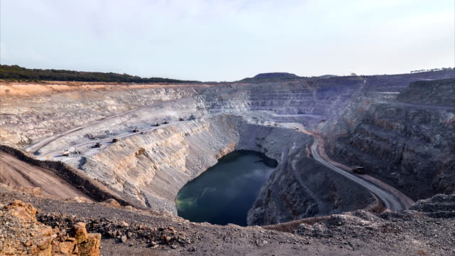 timelapse : mine - gold mine stock videos and b-roll footage