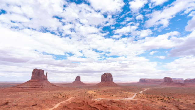 time-lapse monument valley navajo tribal park in utah usa - utah stock videos & royalty-free footage