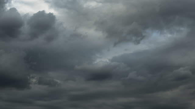 time-lapse : moody clouds sky - 4k resolution stock videos & royalty-free footage