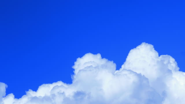 time-lapse : moving clouds timelapse - white cloud sky stock videos & royalty-free footage