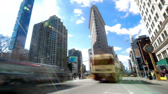 time-lapse in HD: New York City Broadway, 5 th avenue