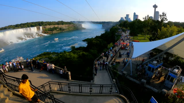 time-lapse :niagara falls in canada - niagara falls stock videos and b-roll footage