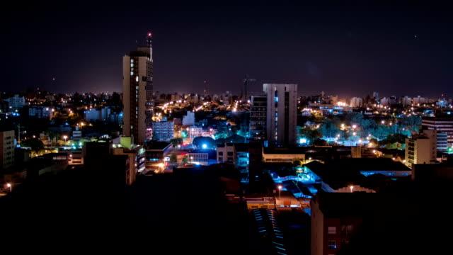 Timelapse nocturno de córdoba ciudad 2