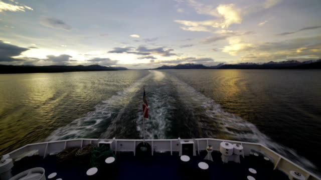 time-lapse: ocean wake - cruise ship - propeller stock videos & royalty-free footage