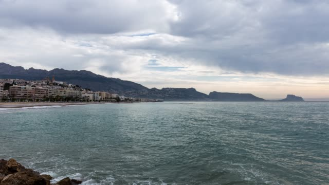Time-lapse of Altea Bay