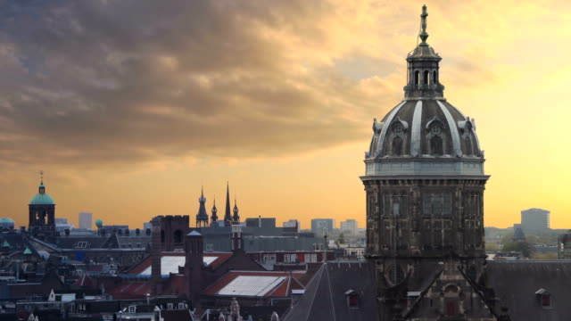 timelapse of amsterdam - judaism stock videos & royalty-free footage
