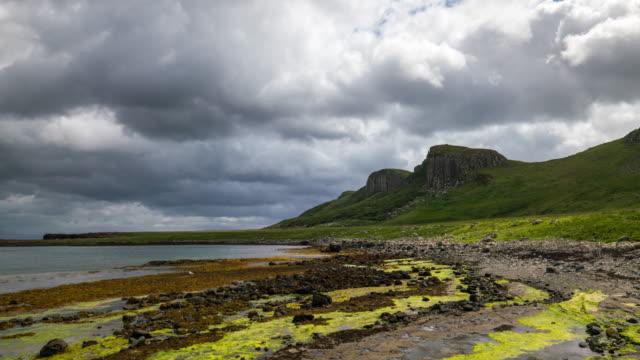 Timelapse of An Corran Beach in Isle of Skye