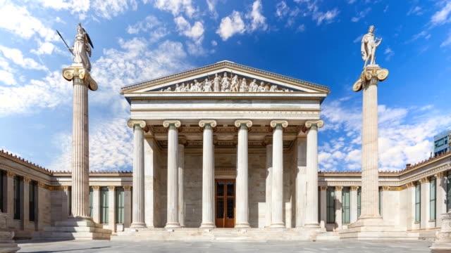 timelapse of athens - athens greece stock videos & royalty-free footage