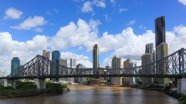 4K Timelapse of Brisbane Cityscape, Australia