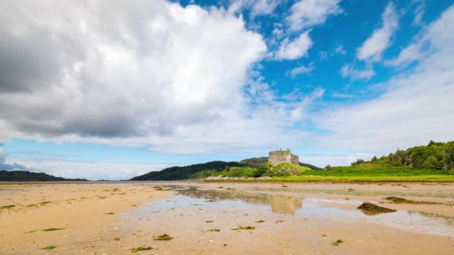 Timelapse of Castle Tioram in Scotland