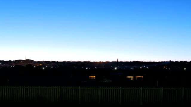 time-lapse of city life in potchefstroom/ south africa - electric lamp stock videos & royalty-free footage