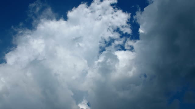 timelapse of clouds in sky - satoyama scenery stock videos & royalty-free footage