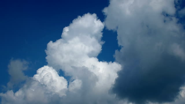 timelapse of clouds in sky - simplicity stock videos & royalty-free footage