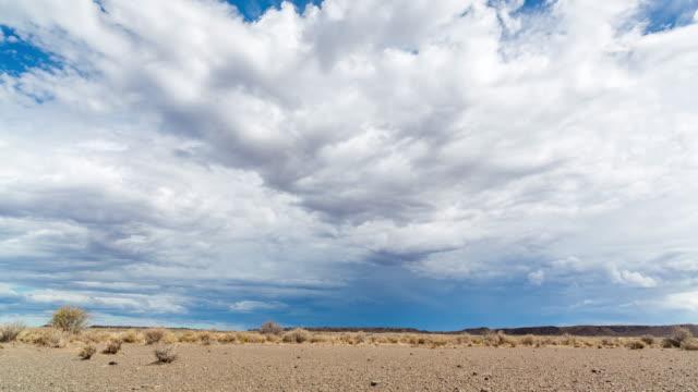 timelapse of clouds moving over a karoo landscape - karoo bildbanksvideor och videomaterial från bakom kulisserna