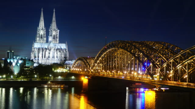 Zeitraffer des Kölner Doms