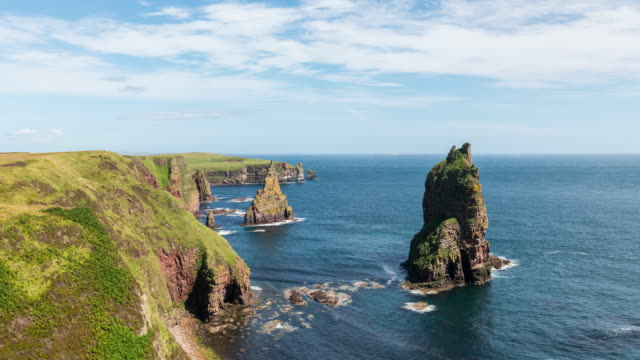 Timelapse of Duncansby Stacks