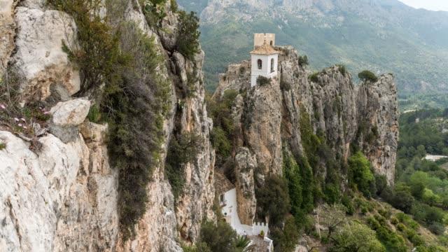 Timelapse of El Castell de Guadalest
