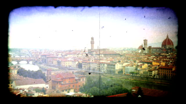 time-lapse of florence, italy skyline. hd - florence italy stock videos & royalty-free footage