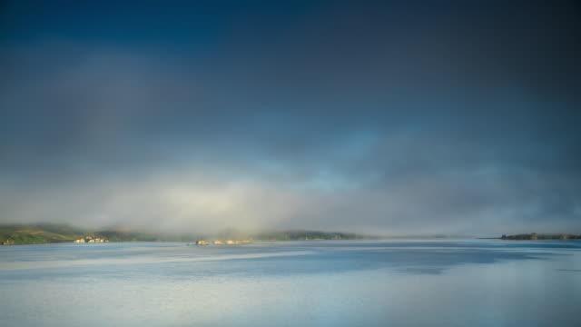 Timelapse of Fog over Bodega Bay
