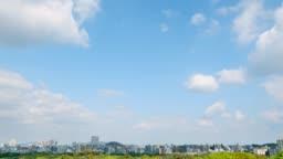 timelapse of Fukuoka city