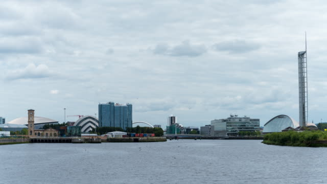 Timelapse of Glasgow skyline