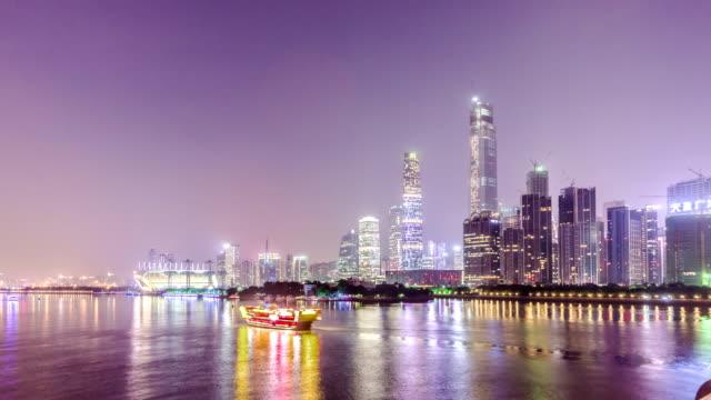 T/L WS Timelapse of Guangzhou / Guangzhou,China