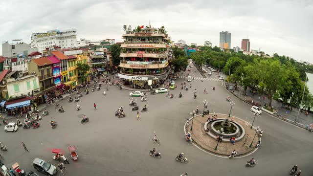 timelapse of hanoi vietnam - 2013 stock videos & royalty-free footage