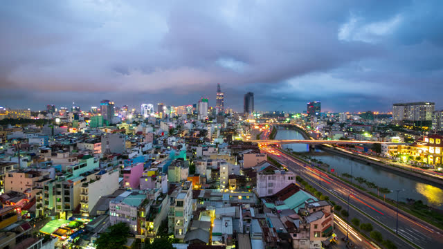 timelapse of ho chi minh city - 2013 stock videos & royalty-free footage