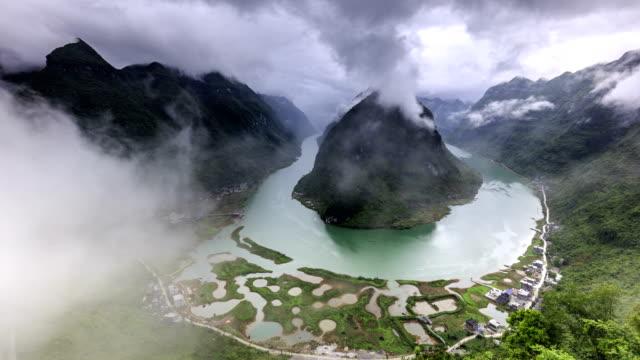 Timelapse del río Hongshui