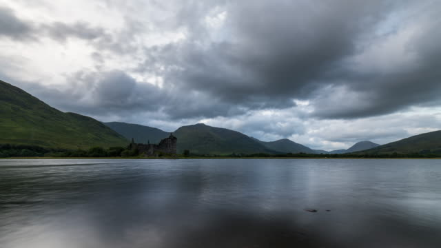 Timelapse of Kilchurn Castle