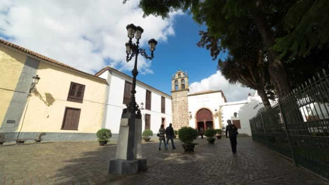 Time-lapse of La Laguna town in Tenerife