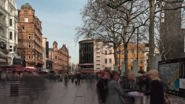 Time-lapse of Leicester Square