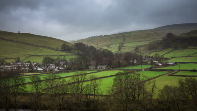 Timelapse of Light and Shade in Upper Wharfedale