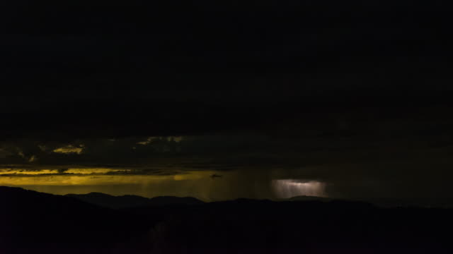 time-lapse of lightning storms over pacific crest trail and el centro and mexico at night. shot on a sony a7s dslr, locked down. - desert stock videos & royalty-free footage