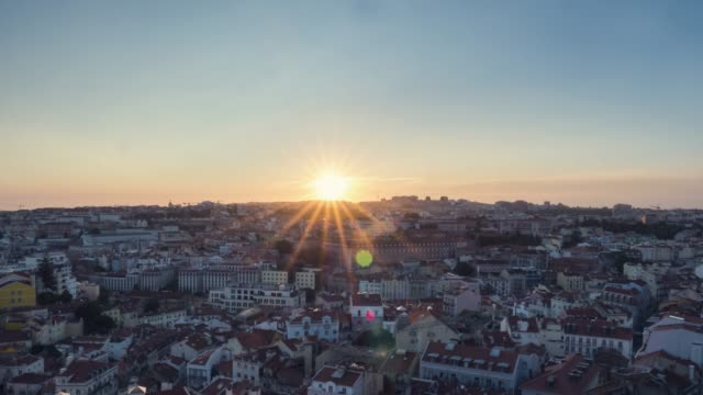 timelapse of lisbon city - tradition stock videos & royalty-free footage