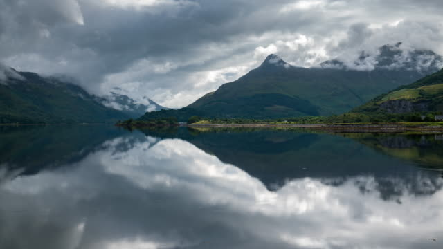 Timelapse of loch Leven mirror reflection